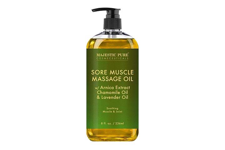 Majestic Pure Cosmeceuticals Sore Muscle Massage Oil