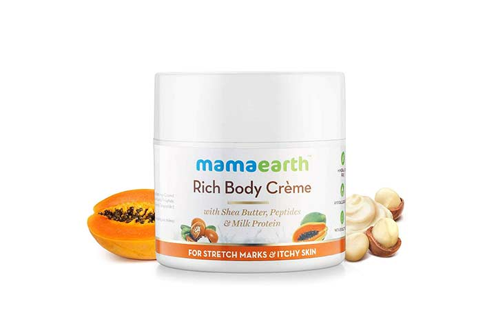Mamaearth Stretch Marks Cream To Reduce Stretch Marks And Scars