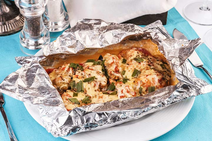 Mediterranean baked fish with basil