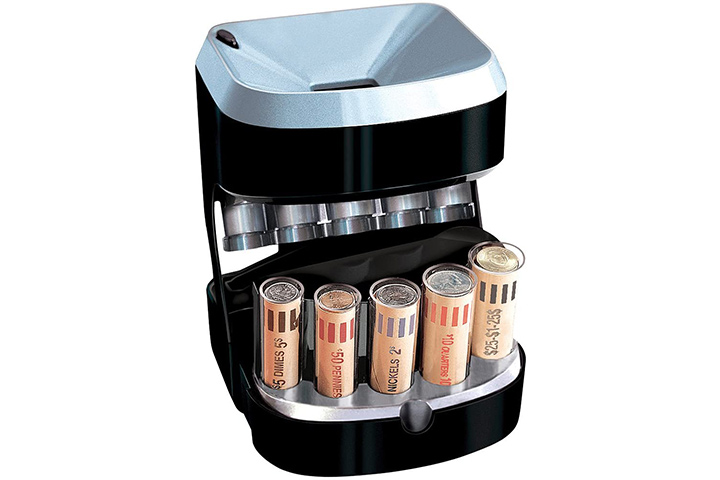 Motorized Coin Sorter from Brookstone
