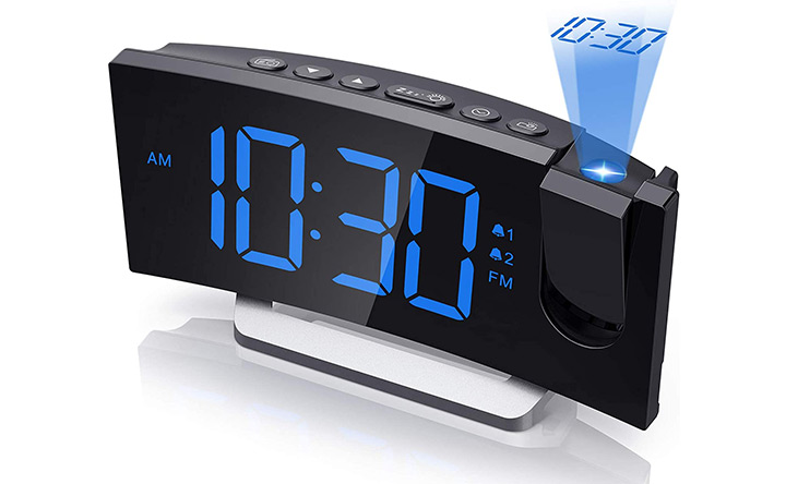 Mpow Projection Alarm Clock