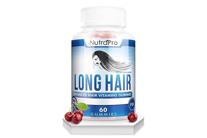 Nutra Pro Anti-Hair Loss Supplement Gummies