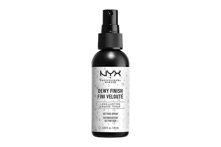 Nyx Dewy Finish Setting Spray