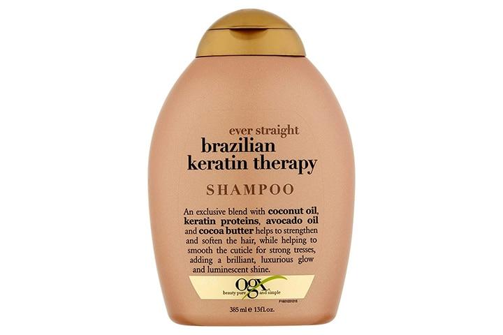 OGX Ever Straightening Brazilian Keratin Therapy Shampoo
