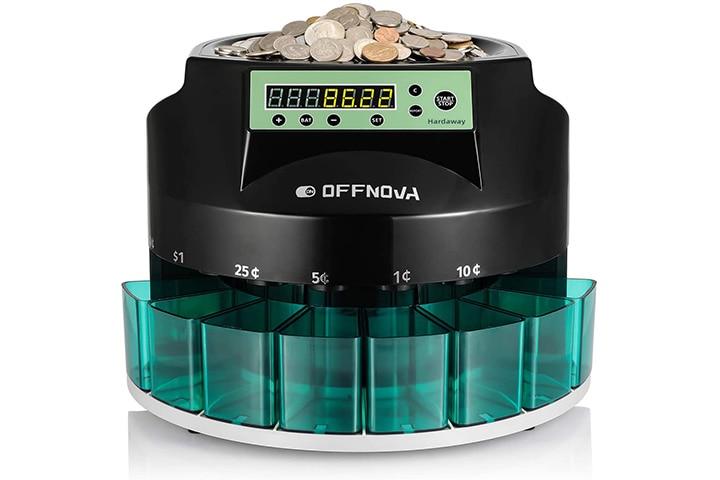 Offnova Hardaway Electric Automatic Coin Sorter & Counter Machine