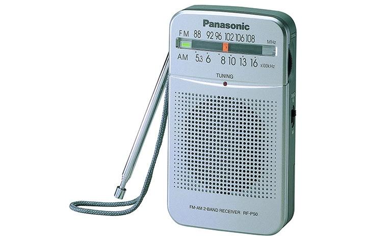 Panasonic FM Radio Speaker Pocket Player - RF-50D