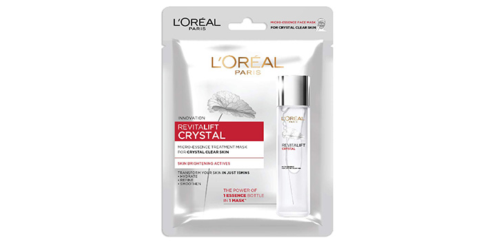 Paris Revitalift Crystal Micro-Essence Sheet Mask