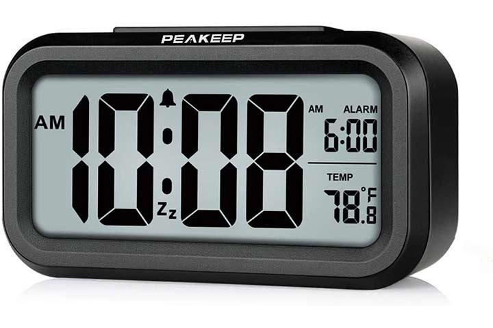 Peakeep Digital Alarm Clock