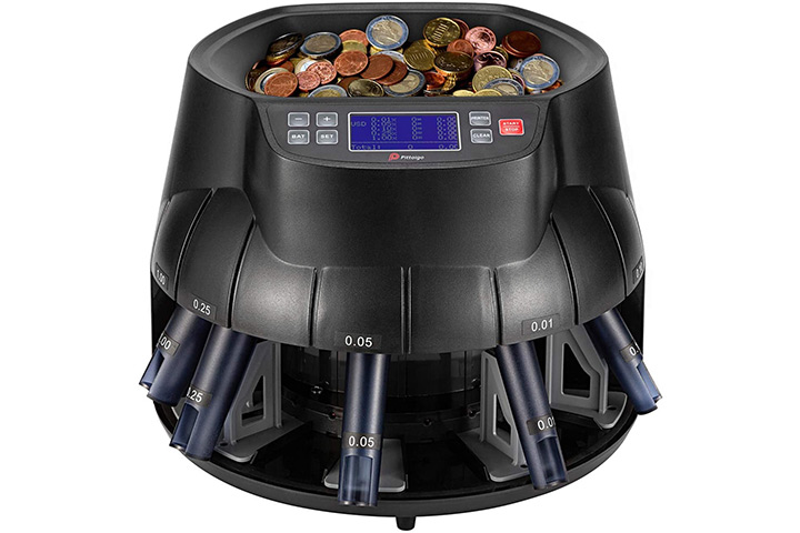 Pittaigo USD Coin Counter, Sorter and Roller