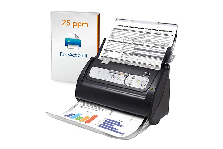 Plustek SmartOffice PS186 High-Speed Document Scanner