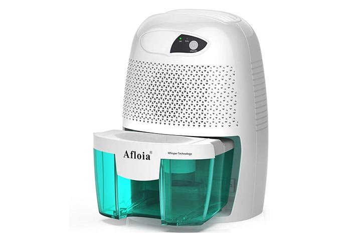 Portable Dehumidifier for Bathroom from Afloia