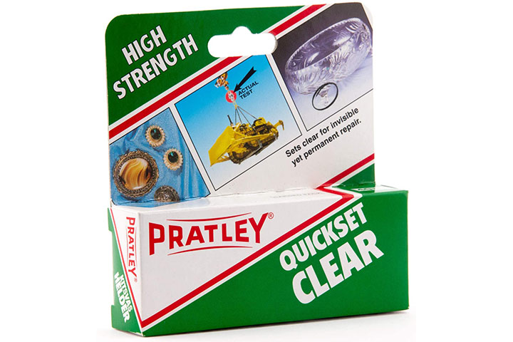 Pratley Epoxy Glue Adhesive Repair Kit