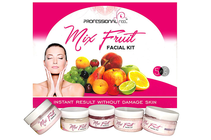 Professional Feel Mix Fruit Facial Kit