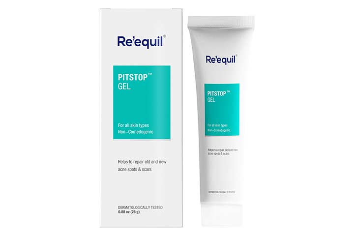 Re-Equil Pitstop Gel For Acne Scars Removal And Acne Pits Removal
