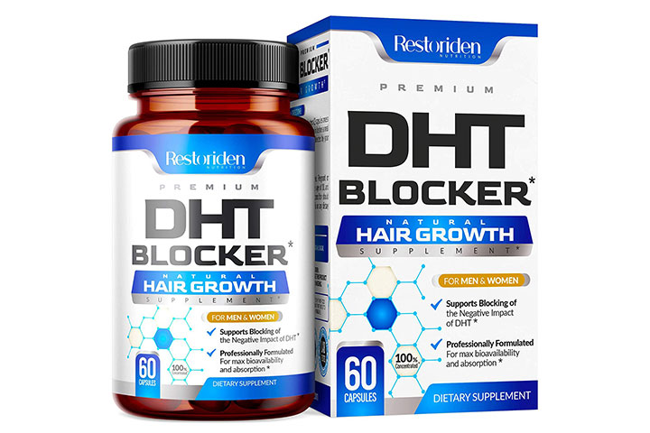 Restoriden DHT Blocker Hair Loss Supplement