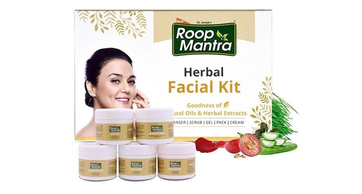 Roop Mantra Herbal Facial Kit