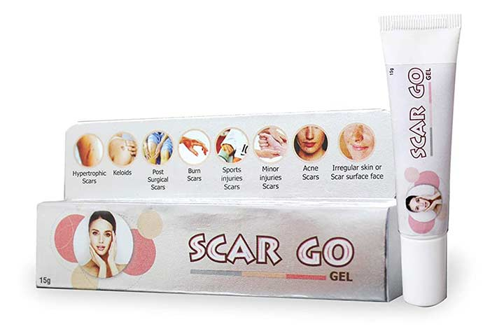 Scargo Gel For Scars, Acne And Sports Injury