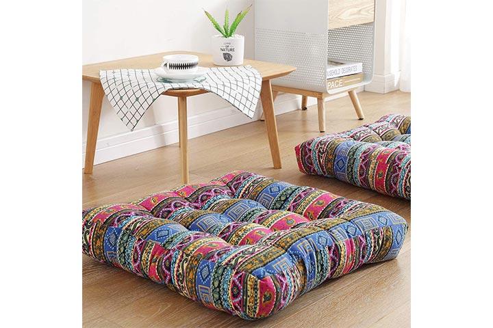 Sexysamba Boho Square Floor Seat Pillows