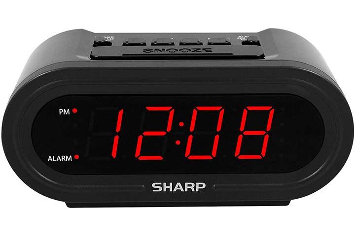 Sharp Digital Alarm with AccuSet