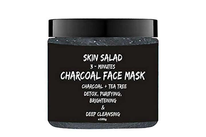 Skin Salad 3- Minutes Charcoal Face Mask