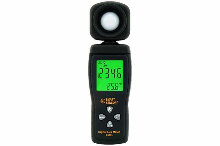 SmartSensorLux Light Meter