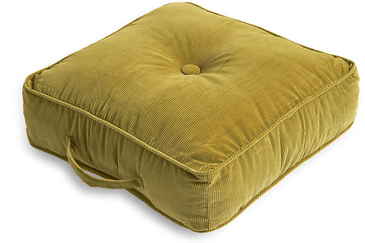 South Pine Porch Oakford Square Floor Pillow