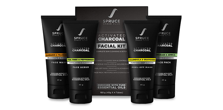 Spruce Shave Club Facial Kit