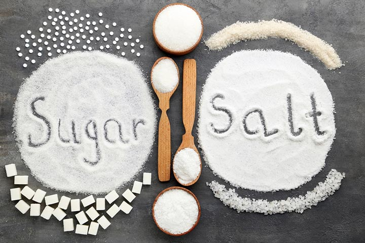 Sugar And Salt For Babies In Hindi
