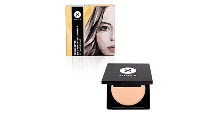 Sugar Cosmetics Dream Cover SPF15 Mattifying Compact
