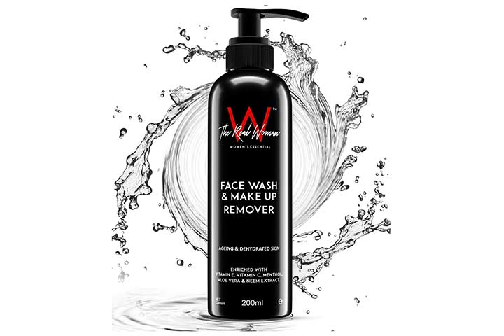 The Real Woman Face Wash & Makeup Remover