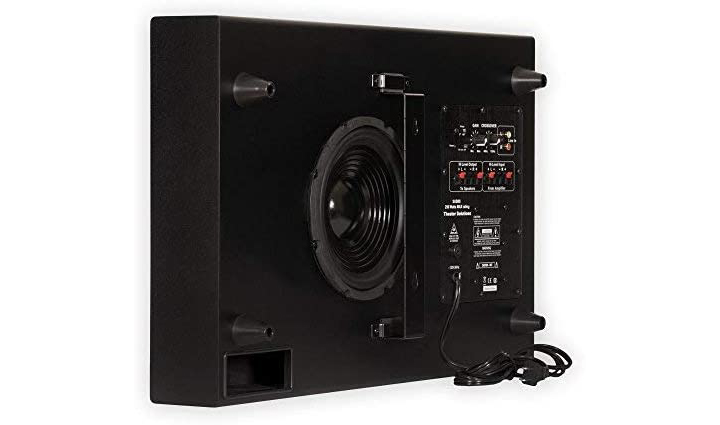 Theater Solutions SUB8S Slim Powered Active Subwoofer