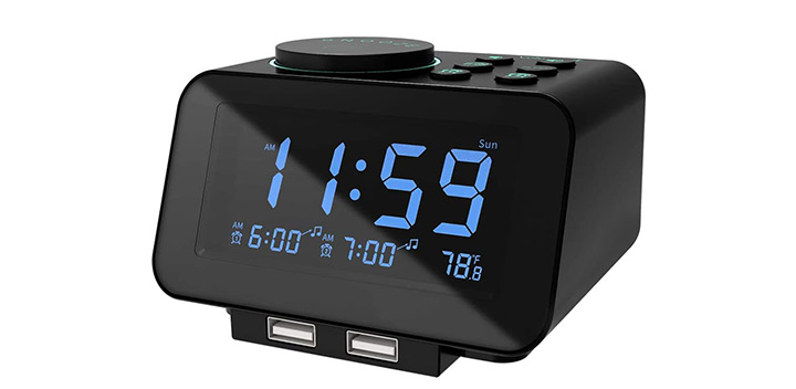 USCCE Digital Alarm Clock