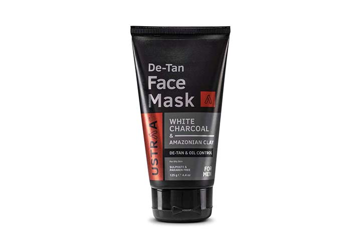 Ustraa De-Tan Face Mask