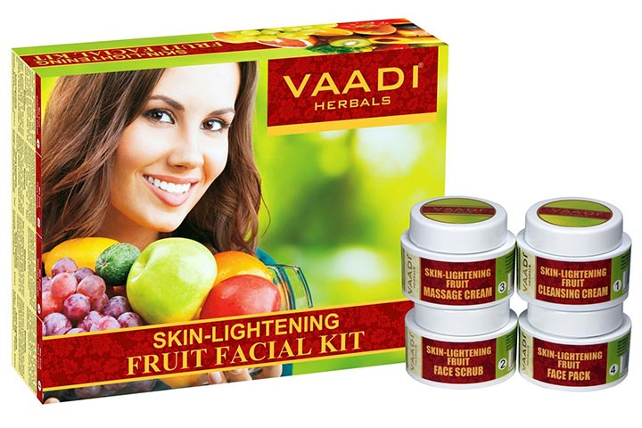 Vaadi Herbals Skin Lightening Fruit Facial Kit