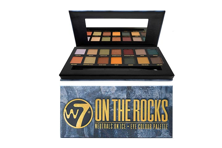 W7 On The Rocks Eyeshadow Makeup Palette