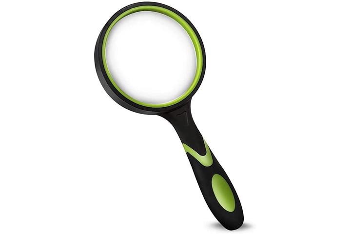 Wapodeai Shatterproof Magnifying Glass