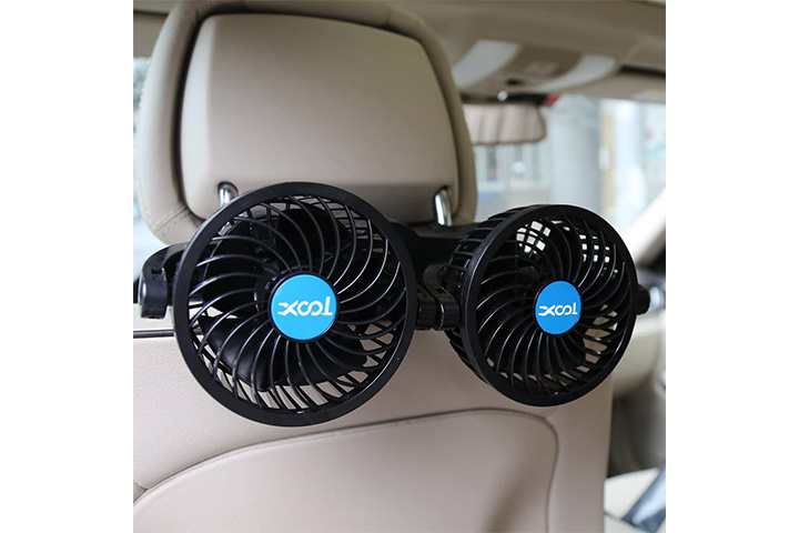 Xool Electric Car Fan For Rear Seat
