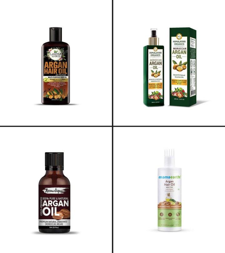 11 Best Argan Oils For Hair In India In 2021-1