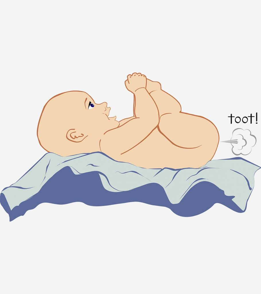 12 Reasons Why Babies Fart And How To Deal With It Banner 910x1024