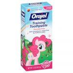 Orajel Toddler Training Toothpaste-Safe and gentle-By pt