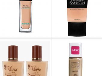 7 Best Foundations For Large Pores In India - 2021
