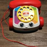 Fisher Price Pull Along Chatter Toy Telephone-Perfect pretend play telephone-By prashanthi_matli