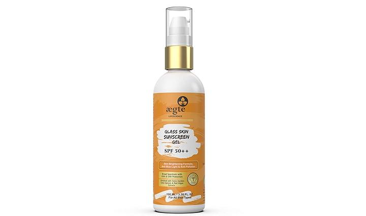 Aegte Glass Skin Sunscreen Gel
