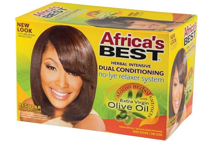 Africa's Best No-Lye Relaxer Kit