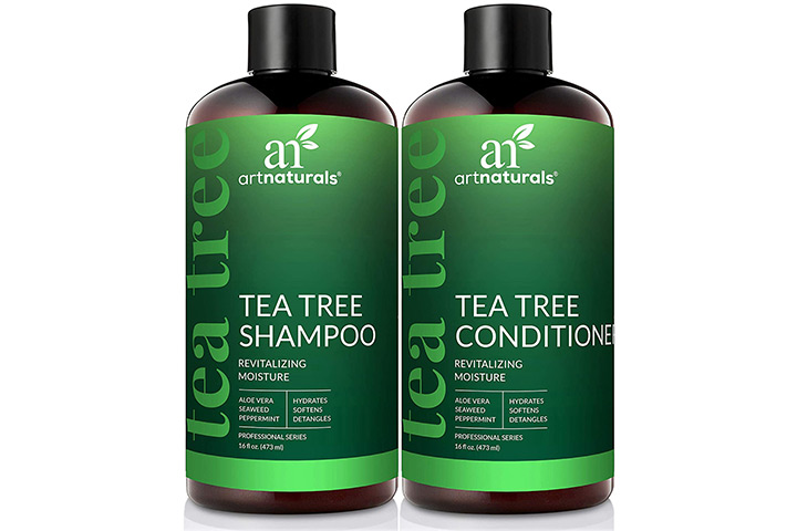 ArtNaturals Tea Tree Shampoo And Conditioner Set