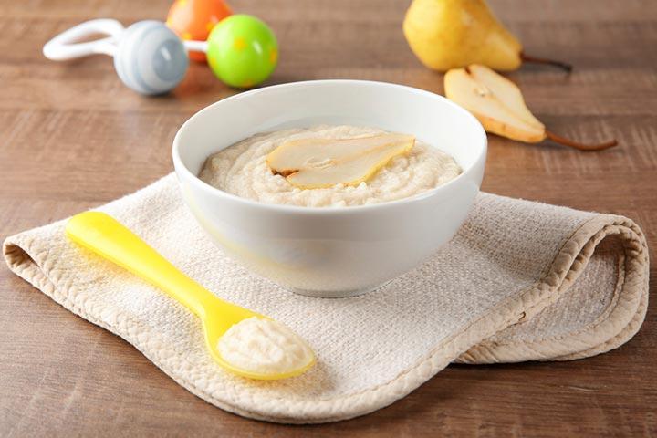 Barley Pudding for Kids