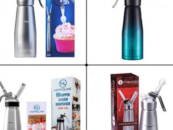 15 Best Whipped Cream Dispensers Of 2021