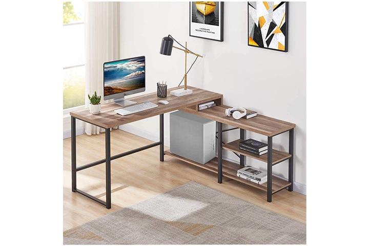 Bon Augure L-Shaped Computer Desk