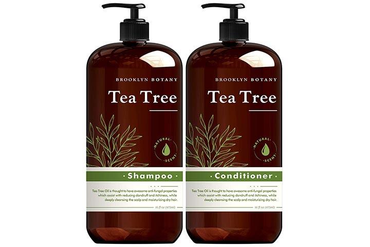 Brooklyn Botany Tea Tree Oil Shampoo And Conditioner Set