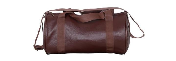 CP Bigbasket Soft Leather Gym Bag